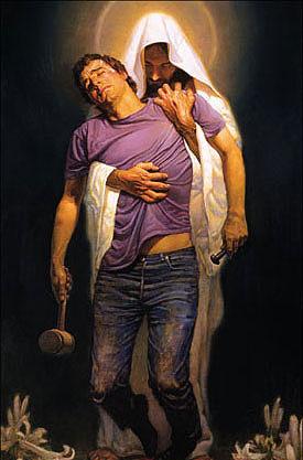 Vrouw ervaart de liefde van God