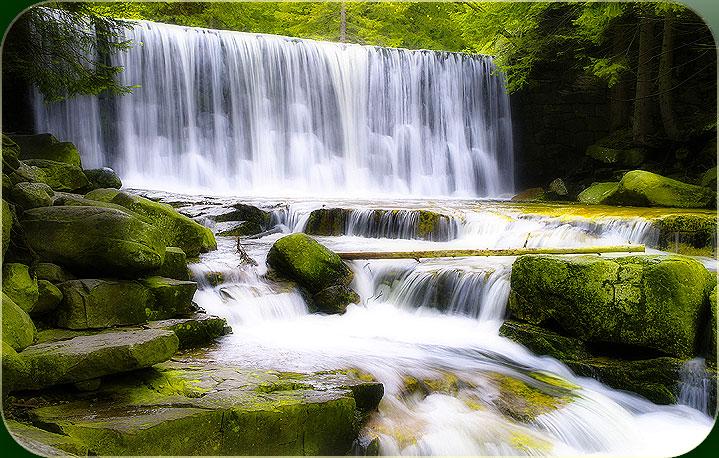 De rivier van gods geest